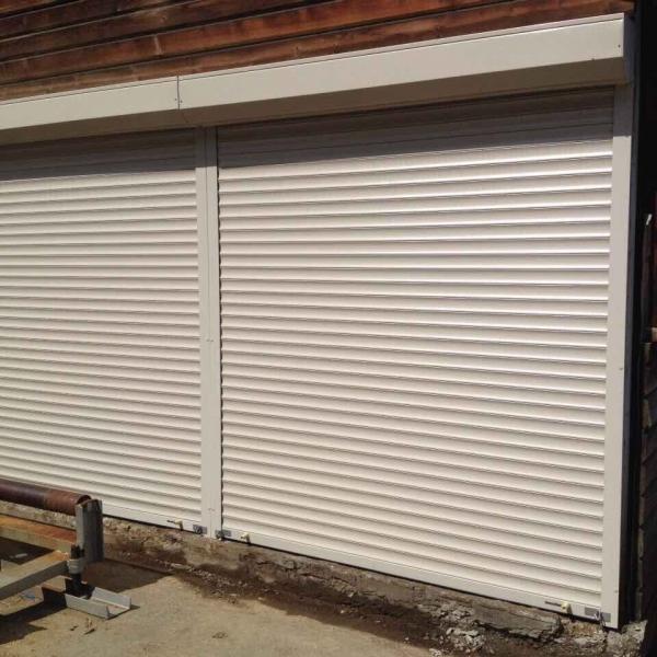Защитные рольставни в гараж